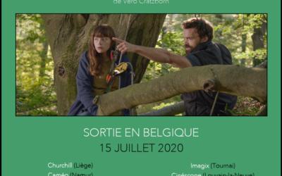Release of INTO DAD'S WOODS in theaters in Belgium !